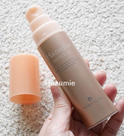hazumie はずみへ 口コミ 効果 大正製薬 オールインワンジェル美容液 はずみえ 感想 容器3
